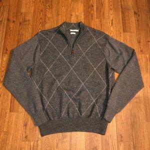 Peter Millar Quarter Zip Sweater, Size: Medium